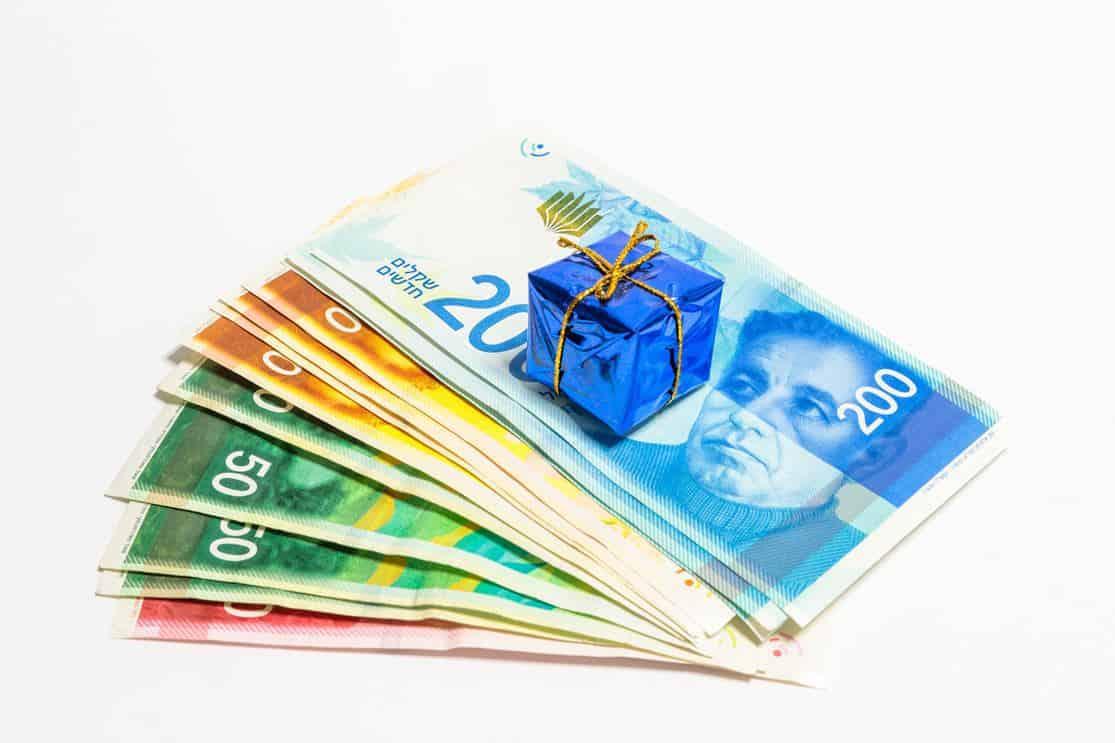 החזר מס עד 6 שנים אחורה - שטרות של כסף